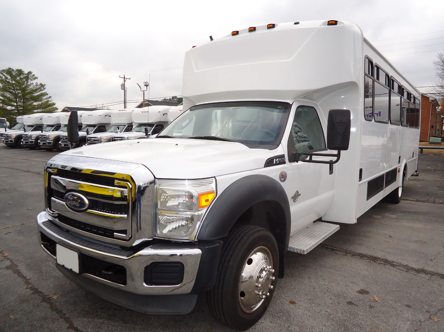 Ford F550 Glaval - Front