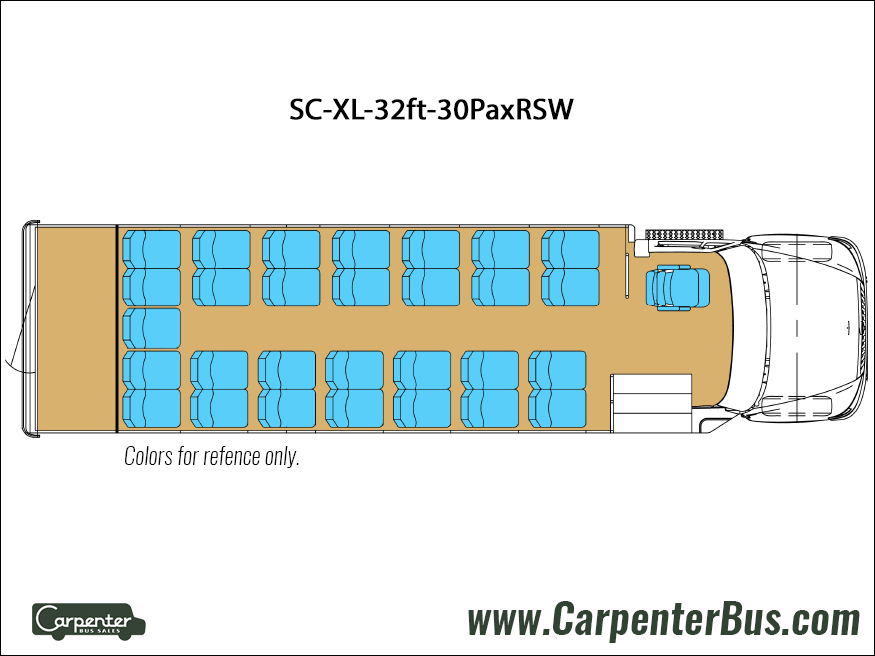Ford F550 Starcraft XL - Floorplan