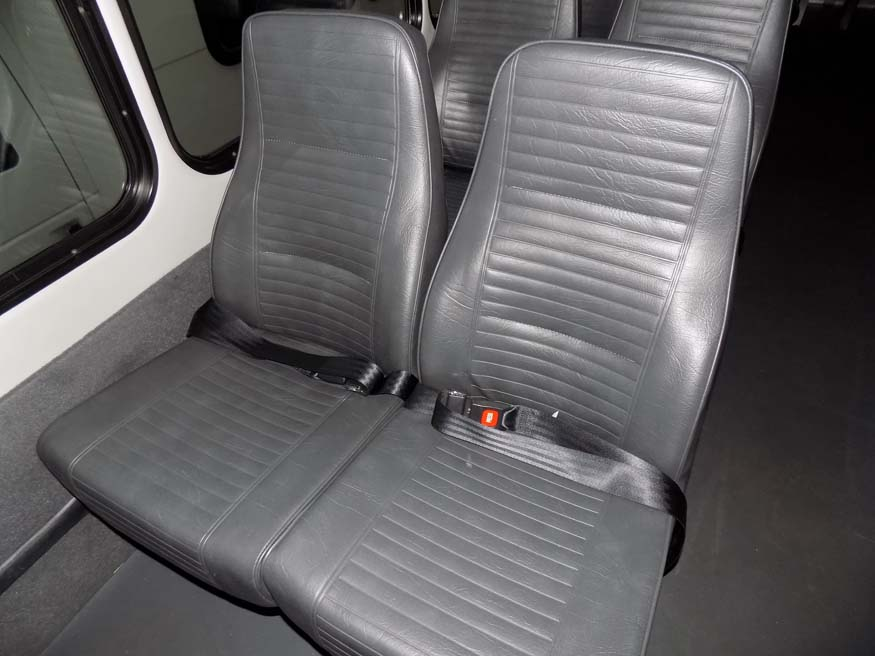 Ford F550 Starcraft XL - Seat