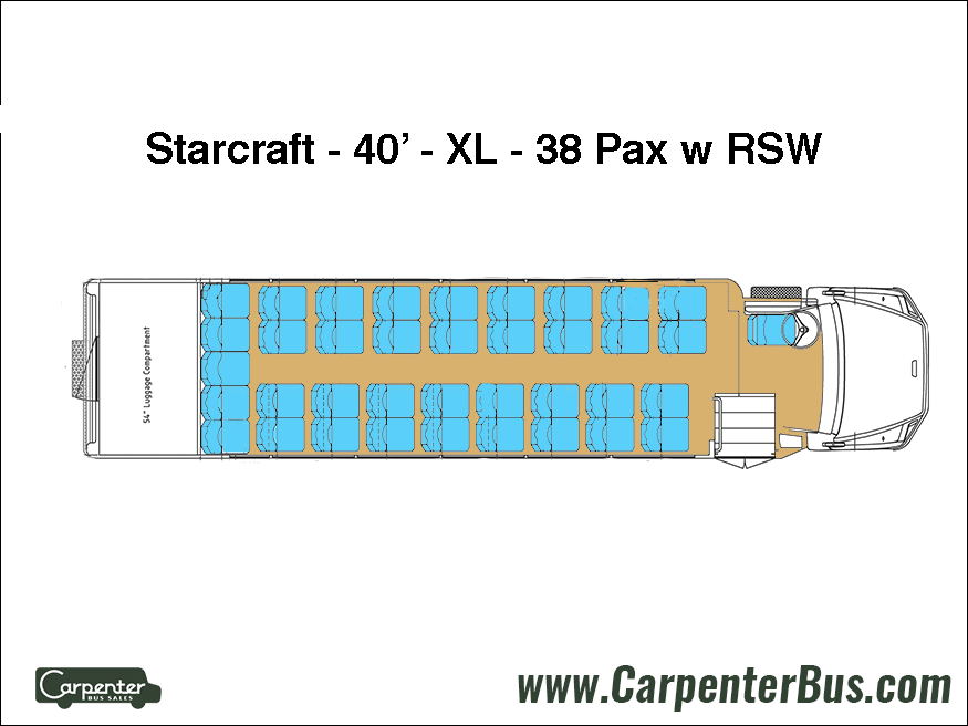 Freightliner Starcraft XL - Floorplan